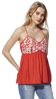 F&F Floral Embroidered Cami Top 22