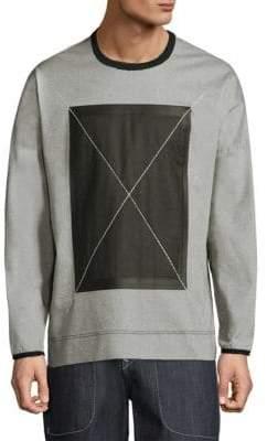 True Religion Pique X Crewneck Sweater