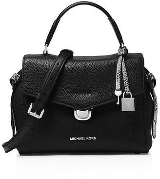 MICHAEL Michael Kors Michael Kors Bristol Small Leather Satchel