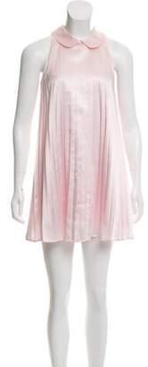Versus Pleated Mini Dress