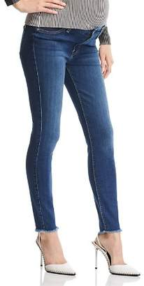 7 For All Mankind Maternity Ankle Skinny Jeans in Rei