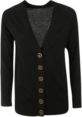 Burberry Crest Button Cardigan
