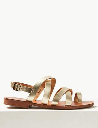 Marks and Spencer Buckle Strappy Loop Sandals