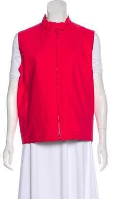 Prada Sport Lightweight Zip-Up Vest