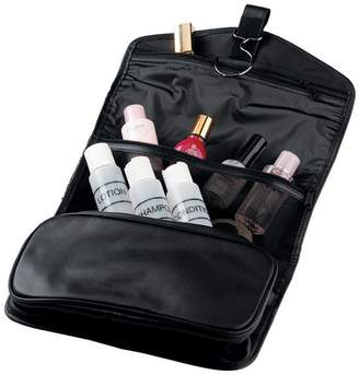Royce Leather Hanging Toiletry Bag & Travel Bottles