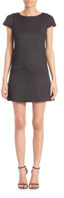 Alice + Olivia Alice + Olivia Delaney Puffed Cap Sleeve Dress