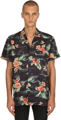Hawaiian Printed Short Sleeve Shirt