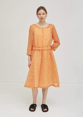 Ter Et Bantine Iridescent Textured Dress