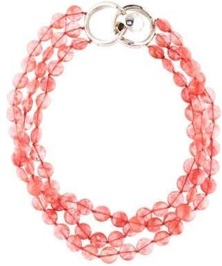 Patricia von Musulin Glass Beaded Multistrand Necklace