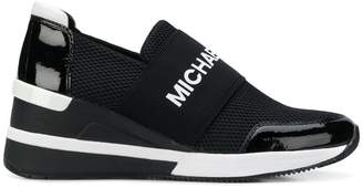 MICHAEL Michael Kors logo platform runner sneakers