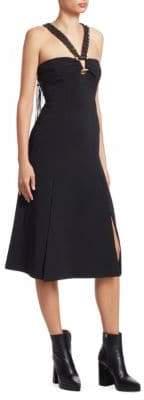 Proenza Schouler Macrame Halterneck Dress