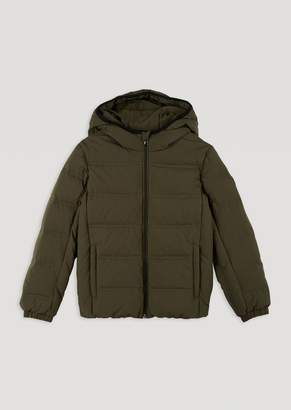 Emporio Armani Ea7 BoyS Padded Jacket With Hood And Full Zip Fastening
