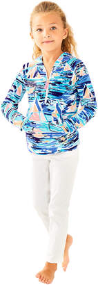 Lilly Pulitzer Girls Little Hooded Skipper Popover