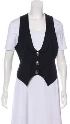 Thomas Wylde Wool Button-Up Vest w/ Tags