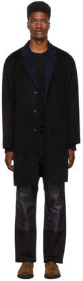 Rag & Bone Black Principle Coat