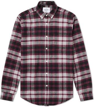 Portuguese Flannel Black Jake Button Down Check Shirt