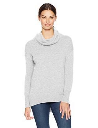Lark & Ro Women's 100% Cashmere Cowl Neck Sweater