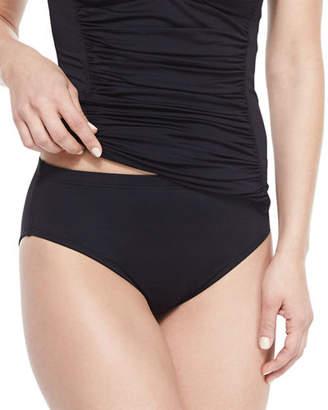 La Blanca High-Waisted Tummy Toner Swim Bottom $43 thestylecure.com