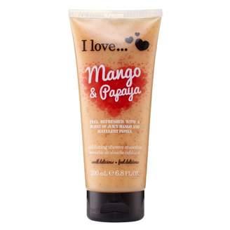 Ilove I Love Mango & Papaya Exfoliating Shower Smoothie 200 mL