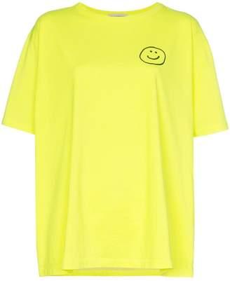 Vika Gazinskaya Smiley print T-shirt