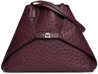 Akris Ai Ostrich Shoulder Bag