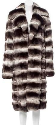 Chinchilla Fur Long Coat