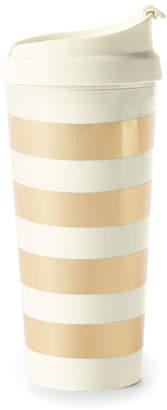 Kate Spade Golden Stripe Thermal Mug
