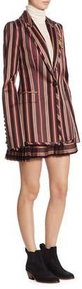 Zimmermann Women's Folly Uniform Stripe Blazer