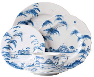 Juliska 5-Piece Country Estate Delft Blue Dinnerware Place Setting