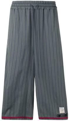 Facetasm Rib Baseball cropped trousers