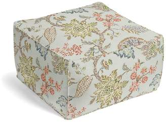 Loom Decor Square Pouf On the Bright Side - Chalk Blue