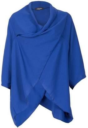 Dorothy Perkins Womens *Feverfish Cobalt Twist Front Jacket