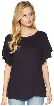 Nic+Zoe Road Trip Ruffle Tee Women's T Shirt