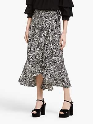 37247c8ab8b4 Somerset by Alice Temperley Mini Leopard Print Skirt, Nude