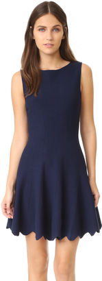 alice + olivia Paulie Scalloped Dress $374 thestylecure.com