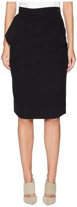 Vivienne Westwood Alcoholic Moleskin Cinched Skirt Women's Skirt