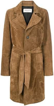 Saint Laurent trench coat