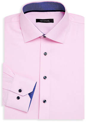 Levinas Tailored Clothing Levinas Contemporary-Fit Dress Shirt