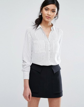 Oasis Stripe Shirt $60 thestylecure.com