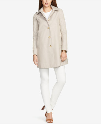 Lauren Ralph Lauren Hooded Trench Coat $99.98 thestylecure.com