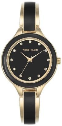 Women's Anne Klein Enamel Bangle Watch, 32Mm $65 thestylecure.com