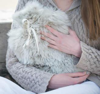 Holmes Samantha Alpaca Fur Hot Water Bottle Cover
