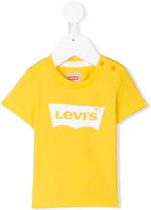 Levi's Kids logo printed T-shirt