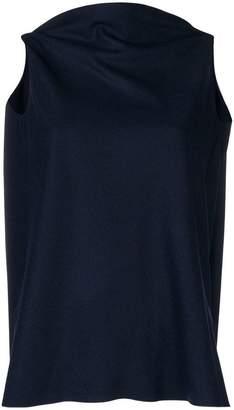 Jil Sander V-back blouse