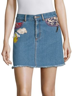 Marc Jacobs Marc Jacobs Denim Mini Skirt