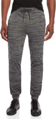 Hollywood The Jean People Drawstring Space-Dye Joggers