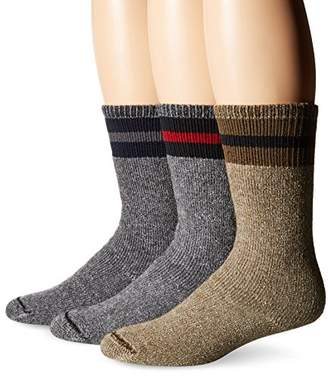 Wigwam Men's American Wool Boot Sock(Pack of 3)