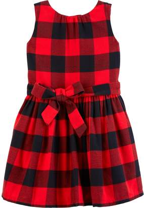 Carter's Toddler Girl Plaid Flannel Dress