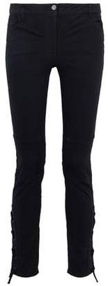 Belstaff Lace-Up Mid-Rise Skinny-Leg Jeans