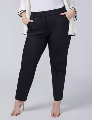 Ashley Double Weave Stretch Ankle Pant